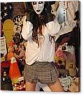 Evil Schoolgirl 217 Canvas Print