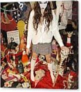 Evil Schoolgirl 274 Canvas Print
