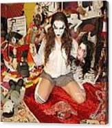 Evil Schoolgirl 38 Canvas Print