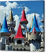 Excalibur Hotel Last Vegas Canvas Print
