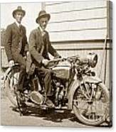 Excalibur Motorcycle Circa 1920 Canvas Print