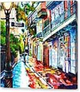 Exchange Alley Canvas Print