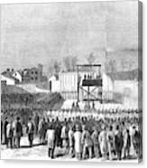 Execution Of Henry Wirzhenry Wirz Canvas Print
