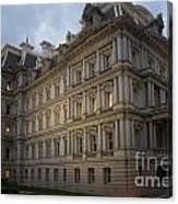 Executive Office Building Canvas Print