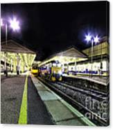 Exeter St Davids By Night  Canvas Print