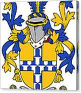 Exham Coat Of Arms Irish Canvas Print
