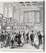 Exhibition Of The City Of London Society Of Artists Canvas Print