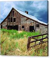 Exit 166 Barn Canvas Print