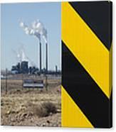 Exit 280 Cholla Power Plant Canvas Print