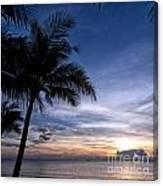 Exotic Sunrise 02 Canvas Print