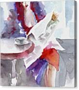 Expectation.. Canvas Print