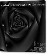 Explore Create Express Canvas Print