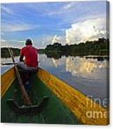 Exploring Amazonia Canvas Print