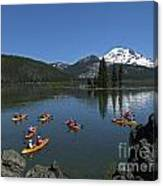 Exploring Sparks Lake Canvas Print