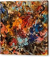 Explosive Chaos Canvas Print