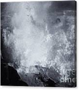 Explosive Sea Canvas Print