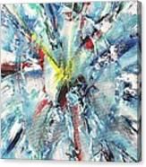 Explosive Two Canvas Print