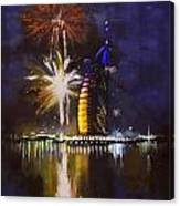 Expo Celebrations Canvas Print