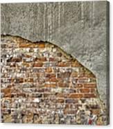 Exposed Brick Canvas Print