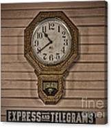 Express And Telegrams Canvas Print