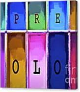 Express Color Canvas Print