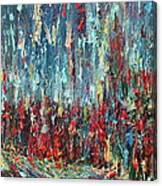 Expressionist Cat Oil Painting.1 Canvas Print