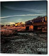 Exton On The Exe Canvas Print
