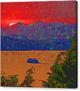 Extreme Sunset Canvas Print