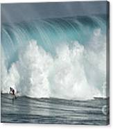 Extreme Ways Of Living Canvas Print