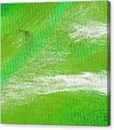 Exuberant Emerald Green Canvas Print
