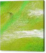 Exuberant Green Canvas Print