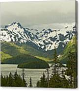 Eyak Lake Landscape Canvas Print
