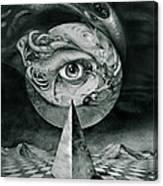 Eye Of The Dark Star Canvas Print