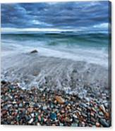 Eye Of The Storm Square Canvas Print
