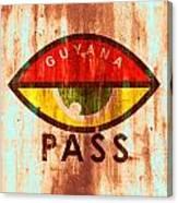 Eye Pass Canvas Print