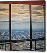 Eyes Down From The 103rd Floor Looking South Canvas Print