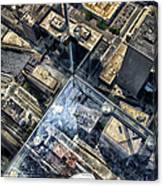 Eyes Down From The 103rd Floor One Small Step Canvas Print