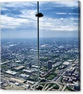 Eyes Down From The 103rd Floor The View From The Ledge Canvas Print