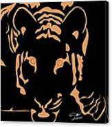 Eyes Of A Tiger 3 Canvas Print