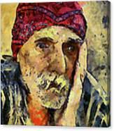 Eyes Of Sadness Canvas Print