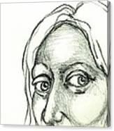 Eyes - The Sketchbook Series Canvas Print