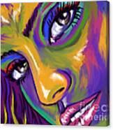 Eyes01 Canvas Print
