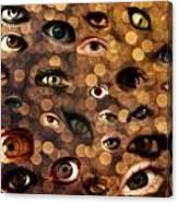 Eyez Canvas Print