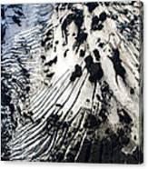Eyjafjallajokull Glacier And Ashes Canvas Print