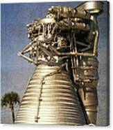 F-1 Rocket Engine Canvas Print