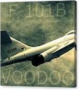 F-101b Voodoo Canvas Print
