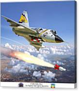 F-106 Delta Dart 5th FIS Canvas Print