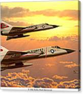 F-106 Delta Dart Intercept Canvas Print