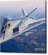 F-117 The Dragon Canvas Print