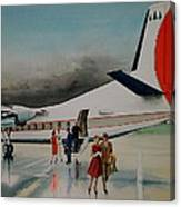 F-27 At Columbus Ohio Canvas Print
